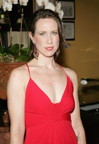 Miriam Shor at the opening of