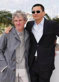Christopher Doyle and Wong Kar Wai at the 61st International Cannes Film Festival.