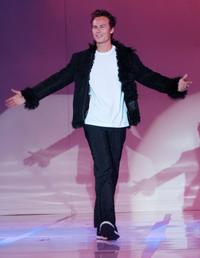Liam Waite at the First Annual Runway For Life Celebrity Fashion Show.
