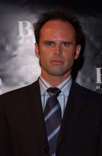 Walt Goggins at the grand re-opening party of the Hugo Boss Rodeo store.
