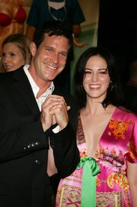 Joanna Going and Dylan Walsh at the premiere of