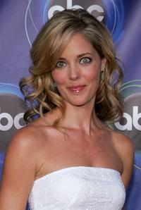 Christina Moore at the ABC TCA party.