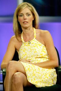 Christina Moore at the panel discussion of