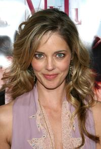 Christina Moore at the premiere of