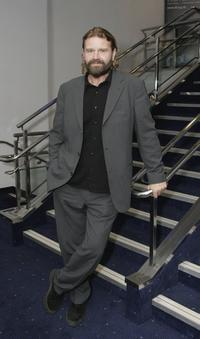Peter Gantzler at the UK premiere of
