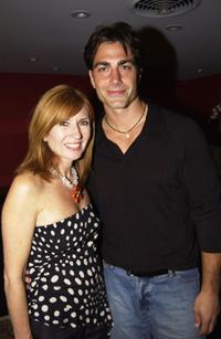 Nicole Miller and Michael Bergin at the Nicole Millers 20th Anniversary Party.