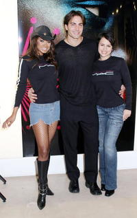 Traci Bingham, Michael Bergin and Natalie Raitano at the MAC AIDS Fund On World AIDS Day.