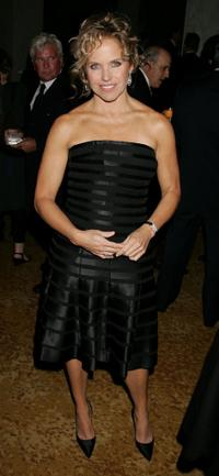Katie Couric at the Museum of Television and Radio's Annual Los Angeles gala.