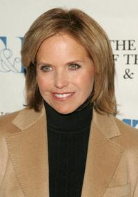 Katie Couric at the Museum Of Television and Radio's seminar.
