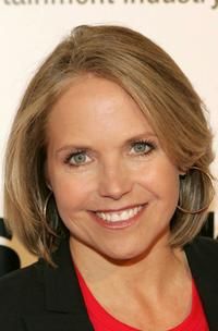 Katie Couric at the Bowl to Strike Out Colon Cancer.