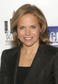 Katie Couric at the New York Women in Film and Television's 26th annual Muse Awards.