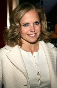 Katie Couric at the premiere of