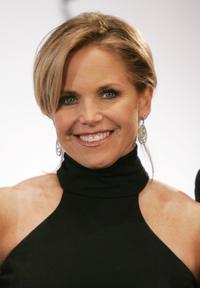 Katie Couric at the 34th International Emmy Awards.