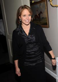 Katie Couric at the after party of the special screening of