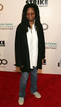 Whoopi Goldberg at the Bowl to
