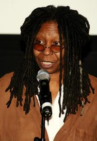Whoopi Goldberg at the 2007 Tribeca Film Festival school screening of