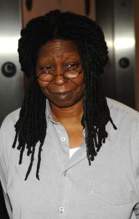 Whoopi Goldberg at the New York screening of