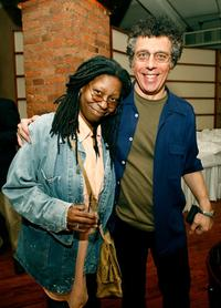 Whoopi Goldberg and Eric Bogosian at the Tribeca Loft during 2007 Tribeca Film Festival.