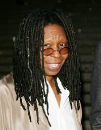 Whoopi Goldberg at the Vanity Fair party of 2007 Tribeca Film Festival.