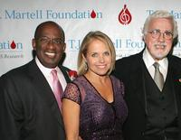 Al Roker, Katie Couric and Tony Martell at the T.J. Martell Foundation 30th Anniversary Gala.
