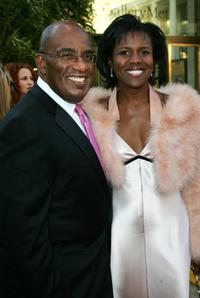 Al Roker and Deborah Roberts at the Metropolitan Opera 2006-2007 season opening night.