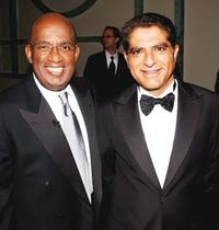 Al Roker and Deepak Chopra at the Quill Book Awards.
