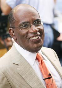 Al Roker at the Toyota Concert Series.