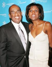 Al Roker and Deborah Roberts at the Third Annual UNICEF Snowflake Ball.
