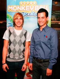 Cody Linley and Derrek Peel at the SEGA Launch of