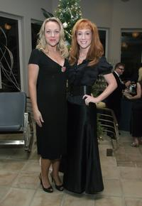 Nicole Sullivan and Kathy Griffin at the Kathy Griffin's Annual Christmas Cocktail Bash Benefiting Toys For Tots.