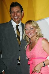 Jeff Goldblum and Nicole Sullivan at the NBC Primetime Preview 2006-2007.