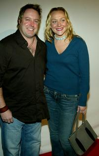 Gary Valentine and Nicole Sullivan at the CBS and UPN Winter Press Tour party.