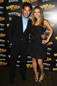 Ricky Paull Goldin and Chrishell Stause at the after party of the opening night of