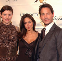 Michelle Ray Smith, Jessica Leccia and Ricky Paull Goldin at the 1st Annual US Doctors for Africa New York Gala benefit.