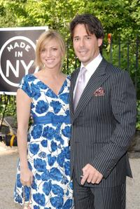 Deborah Gibson and Ricky Paull Goldin at the Made In NY Awards.