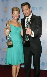 Beth Ehlers and Ricky Paull Goldin at the 32nd Annual Daytime Emmy Awards.