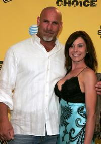 Bill Goldberg and Wanda Ferraton at the Spike TV's First Annual
