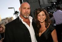 Bill Goldberg and wife Wanda at the California premiere of