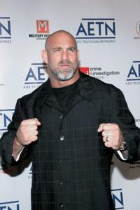 Bill Goldberg at the A&E Television Networks Upfront celebration.