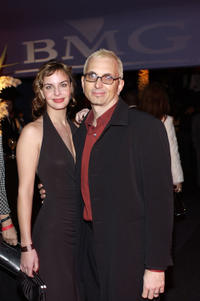 Art Alexakis and Guest at the BMG party during the 46th Annual Grammy Awards in California.