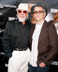 Producer Lou Adler and Art Alexakis at the opening night of Sunset Strip Music Festival in California.