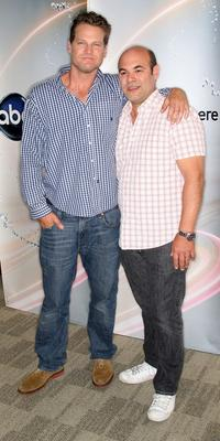 Brian Van Holt and Ian Gomez at the Disney and ABC Television Group Summer press junket.
