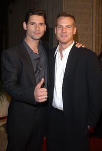 Eric Bana and Brian Van Holt at the California premiere of