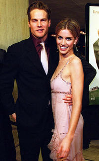 Brian Van Holt and Amanda Peet at the Los Angeles premiere of