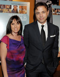 Miranda Bailey and Matthew Leutwyler at the California premiere of