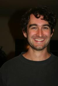 Director Jay Duplass on the set of