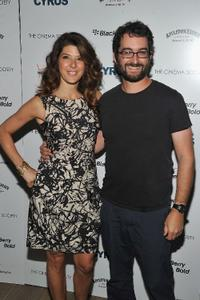 Marissa Tomei and Jay Duplass at the special screening of
