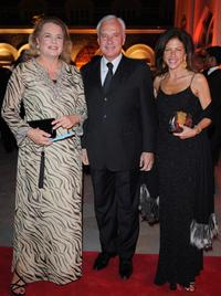 Ira Von furstenberg, Bernard Fornas and Clio Goldsmith at the Gala Dinner of Cartier