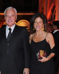 Bernard Fornas and Clio Goldsmith at the Gala Dinner of Cartier