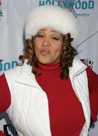 Kym E. Whitley at the 2005 Hollywood Christmas Parade.